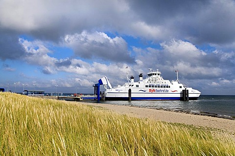 Ferry to Roemoe, List, Sylt Island, North Frisia, Schleswig-Holstein, Germany, Europe