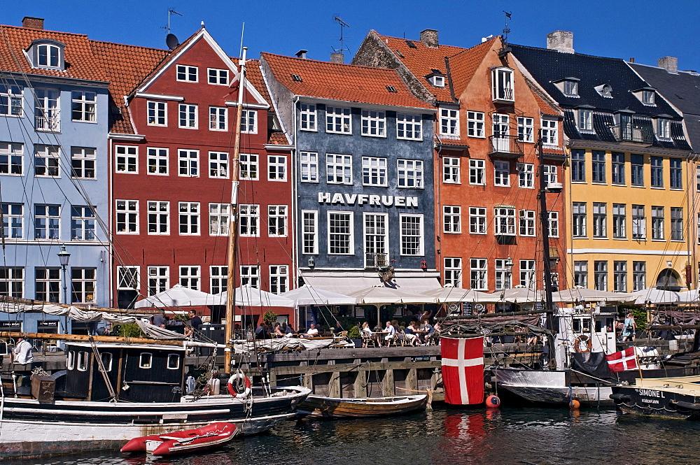 Nyhavn street, Copenhagen, Denmark, Scandinavia, Europe