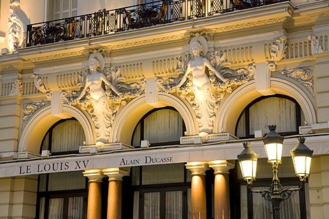 Le Louis XV Restaurant, head chef Alain Ducasse, gourmet restaurant, Monte Carlo, Monaco, Cote d'Azur, Provence, France