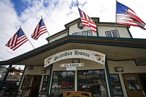 Hotel Scandia House, Petersburg, Inside Passage, Alaska, USA