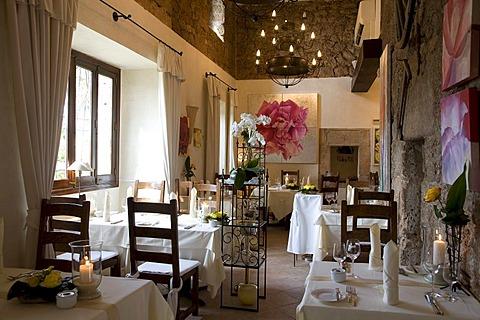 Moli des Torrent restaurant, Santa Maria del Cami, Majorca, Balearic Islands, Spain, Europe