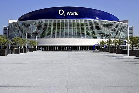 Sign, O2 World, event hall, Berlin, Germany, Europe