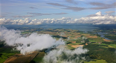 Aerial photograph, Mueritz, nature preserve, Mueritz National Park, Mecklenburg Lake District, Rechlin, Mecklenburg-Western Pomerania, Germany, Europe