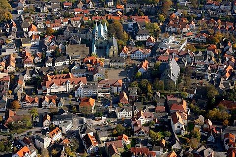Aerial photo, Werl, Kreis Soest, Soester Boerde, South Westphalia, North Rhine-Westphalia, Germany, Europe