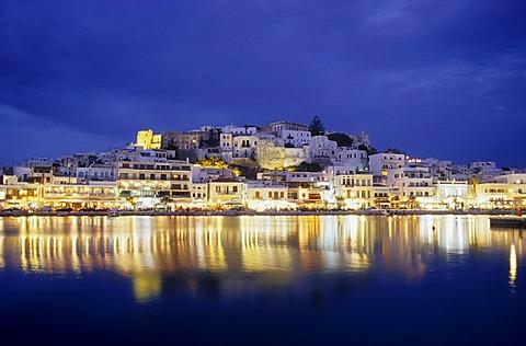 Naxos city, Naxos Island, Greece, Europe - 832-247277
