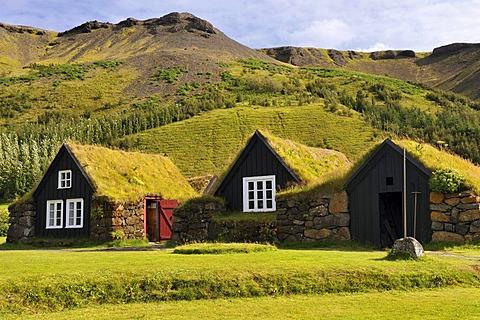 The open air and local history museum in Skogar, Byggasafni i Skogum, Iceland, Europe