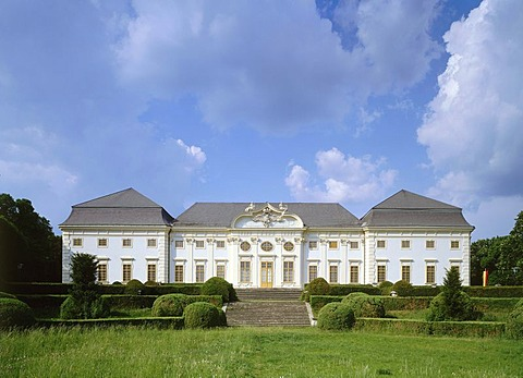 Schloss Halbturn, castle built by Lucas von Hildebrandt, 1711, Halbturn, Burgenland, Austria, Europe