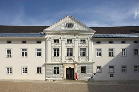 Ossiach Abbey, venue of the Carinthian Summer, Kaernten, Austria, Europe