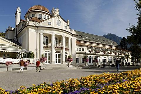 Historic Meran spa building, Bolzano-Bozen, Alto Adige, Italy, Europe