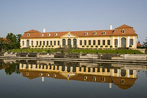 Obere Orangerie upper orangery, baroque Garden Grosssedlitz, Dresden, Saxony, Germany