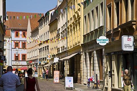Old town, Pirna, Saxony, Germany