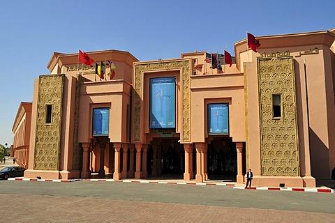 Palais des Congres de Marrakech, Congress Palace, Marrakesh, Morocco, Africa