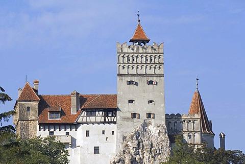 Bran Castle or Draculaís Castle, Wallachia, Carpathian Mountains, Romania