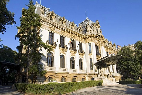 Cantacuzino Palace and George Enescu Museum, Bucharest, Rumania