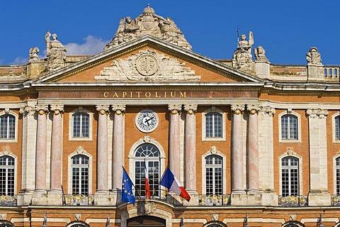 Capitoleum, Place de Capitol, Toulouse, Midi Pyrenees, France, Europe, PublicGround