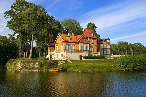 Hotel, Kuressaare, Saaremaa, Baltic Sea Island, Estonia, Baltic States, Northeast Europe - 832-251557