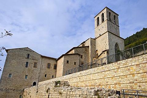 Duomo, Cathedral, Gubbio, Marche, Italy, Europe, PublicGround