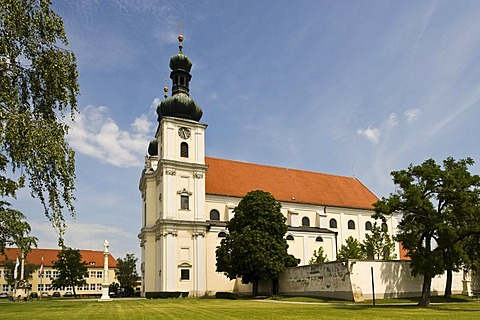 Baroque church, Frauenkirchen, Burgenland, Austria, Europe