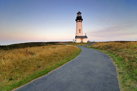Yaquina Head Lighthouse, tallest lighthouse in Oregon, 28.5 metres, point of interest, Yaquina Head, Oregon, USA, North America