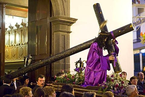 Good Friday procession, Camara de Lobos, Madeira, Portugal