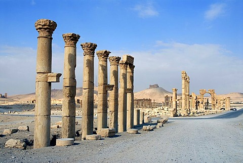 Ruins of Palmyra, Syria, Near East, Asia