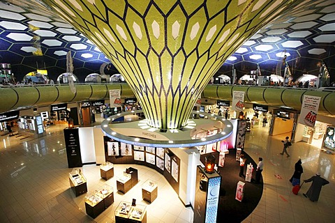 Duty Free shop at Abu Dhabi airport, Abu Dhabi, United Arab Emirates, Middle East