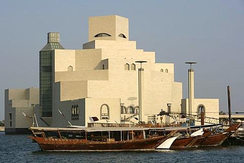 Museum of Islamic Art, Corniche, Doha Bay, Doha, Qatar