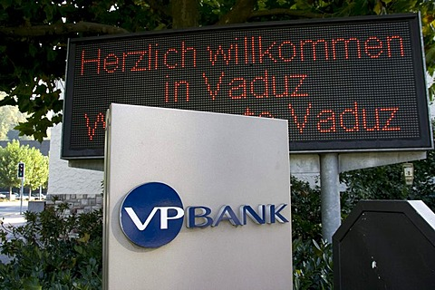 Logo of the VP Bank, Vaduz, Liechtenstein, Europe