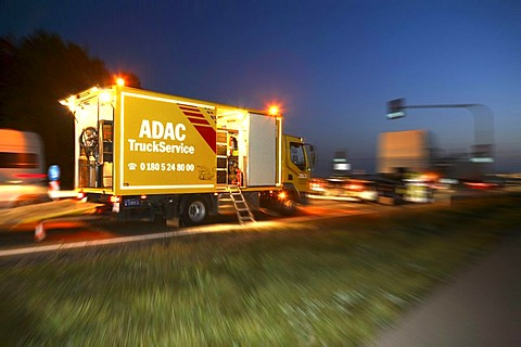 ADAC Truk Service in action