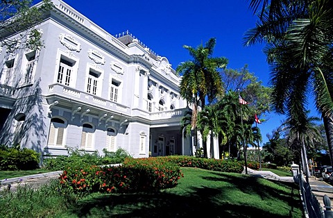 State Department Reception Centre, historic city centre, San Juan, Puerto Rico, Caribbean