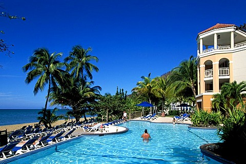 Pool, Rincon Beach Resort, Rincon, Puerto Rico, Caribbean