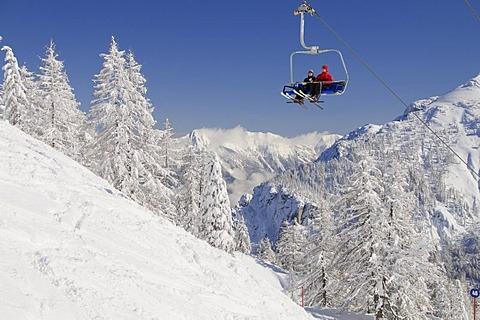 Chairlift, Nassfeld, Carinthia, Austria, Europe