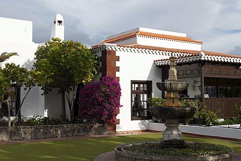 Hotel facility Jardin Tecina, Playa de Santiago, La Gomera, Canaries, Canary Islands, Spain, Europe