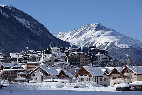 Ischgl, Paznaun valley, Tyrol, Austria, Europe