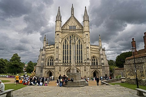 Winchester Cathedral, Hampshire, England, United Kingdom, Europe