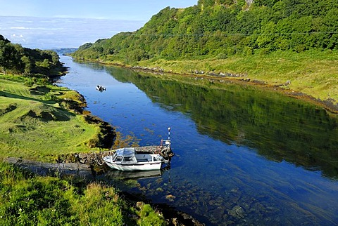 View of Seil Sound, Isle of Skye, Scotland, Great Britain, Europe
