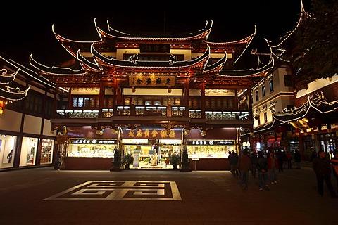 Historic centre of Shanghai, China, Asia