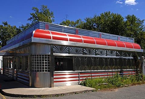 American Diner Restaurant, Blairstown, New Jersey, USA