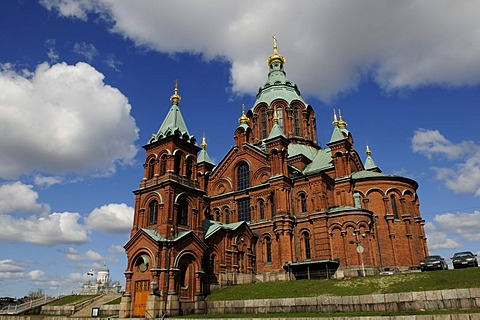Orthodox Uspenski Cathedral, Helsinki, Finland, Europe