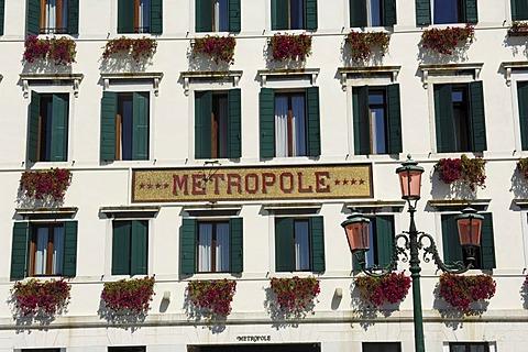 Metropole Hotel, Venice, Veneto, Italy, Europe