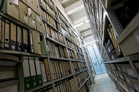 Archive of the Deutsches Technikmuseum, German museum of Technology, Berlin, Germany, Europe