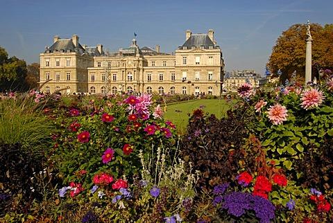 Jardin du Luxembourg in Paris, France, Europe