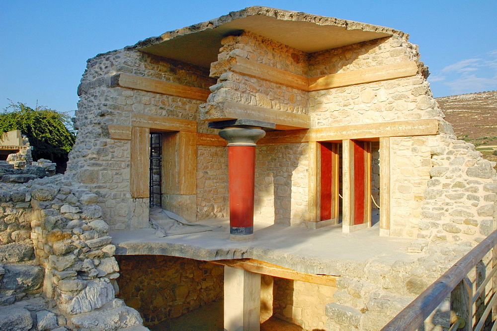 Archaeological site of Knossos, Crete, Greece, Europe