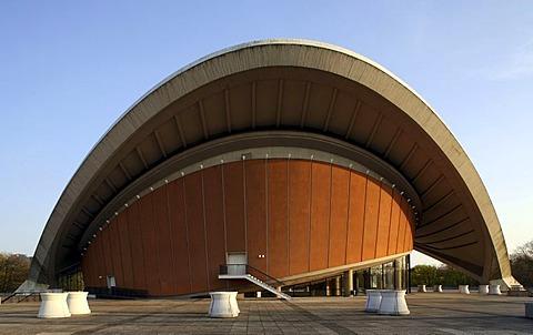 Haus der Kulturen der Welt, art centre, congress hall, Berlin, Germany, Europe