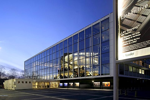 Musiktheater im Revier, theatre, Gelsenkirchen, Ruhr area, North Rhine-Westphalia, Germany, Europe