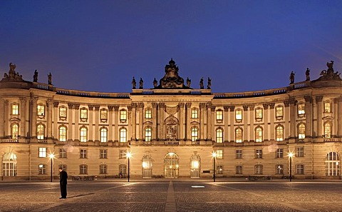 Humboldt University of Berlin, former Royal Library, Bebelplatz square, Unter den Linden boulevard, Mitte, Berlin, Germany, Europe