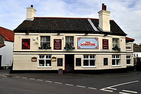 A pub at Sheringham on the Norfolk coast, England, United Kingdom, Europe