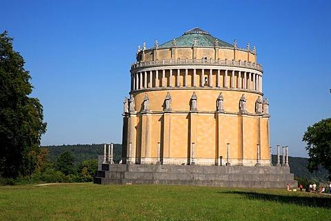 Befreiungshalle, Hall of Liberation, near Kelheim, Lower Bavaria, Bavaria, Germany, Europe