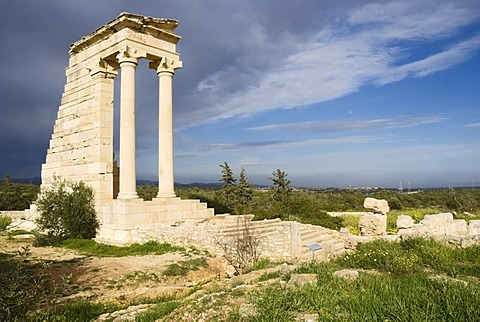 Apollo Temple, Roman excavations, Cyprus
