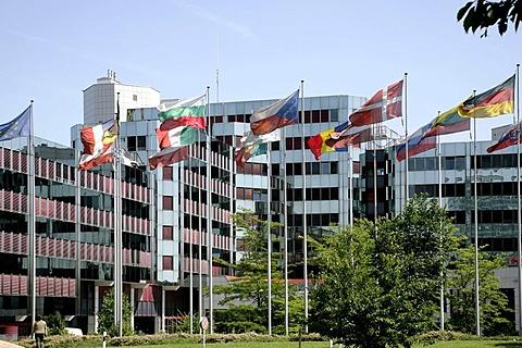 European Parliament, Konrad Adenauer building, in Luxembourg, Europe